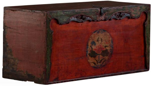 Painted Gansu Storage Trunk