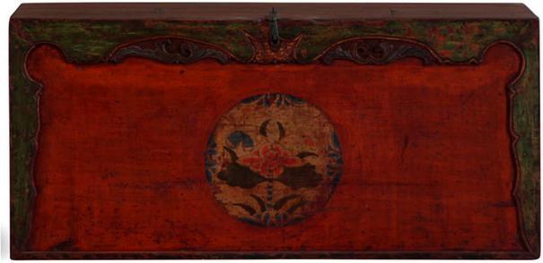 Painted Gansu Storage Trunk image 2