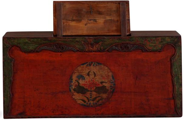 Painted Gansu Storage Trunk image 3