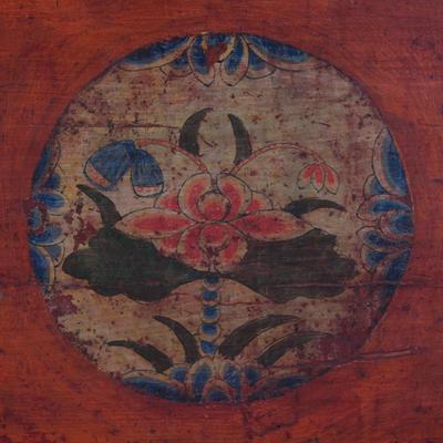 Painted Gansu Storage Trunk image 4
