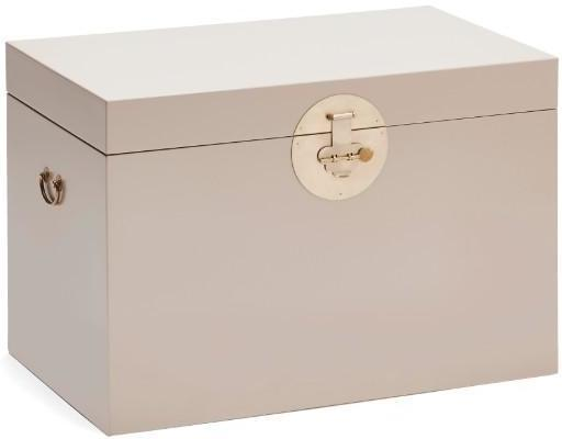 Large Classic Chinese Trunk - Oyster Grey image 3