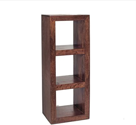 Octane Acacia Hardwood Three Cube Shelves