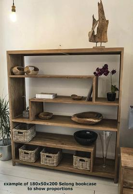 Selong Reclaimed Wood Bookcase