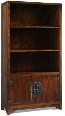 Book Cabinet in Warm Elm