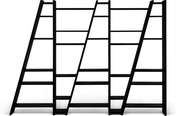 TemaHome Modern Delta (5) Display Unit - Matt White, grey or Black image 3