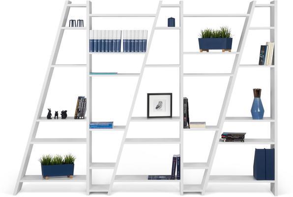 TemaHome Modern Delta (5) Display Unit - Matt White, grey or Black image 4