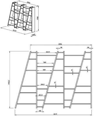 TemaHome Modern Delta (5) Display Unit - Matt White, grey or Black image 14