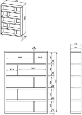 TemaHome Dublin Shelving Unit - Low or High image 18