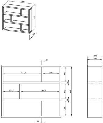 TemaHome Dublin Shelving Unit - Low or High image 19