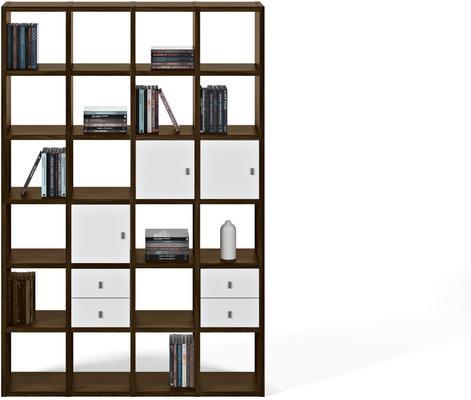 TemaHome Pombal (01) Wall Unit - Matt White, Concrete, Oak or Walnut image 9