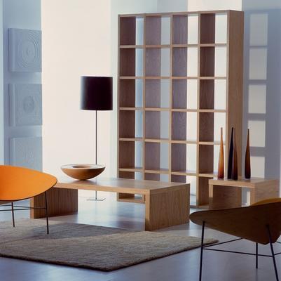 TemaHome Pombal (01) Wall Unit - Matt White, Concrete, Oak or Walnut image 16