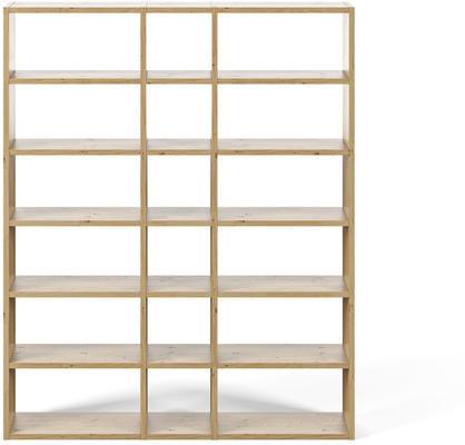 TemaHome Pombal (18) Wall Unit - Matt White, Concrete, Oak or Walnut image 3