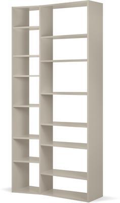 TemaHome Valsa 001 Wall Display Unit - Matt Grey or White image 4
