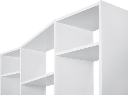 TemaHome Valsa 002 Wall Display Unit - Matt Grey or White image 7