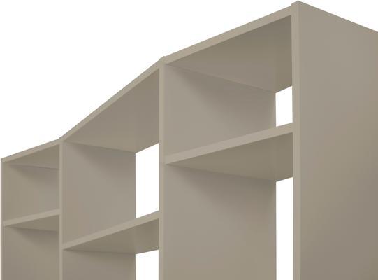 TemaHome Valsa 002 Wall Display Unit - Matt Grey or White image 8