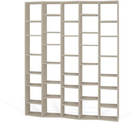 TemaHome Valsa 004 Wall Display Unit - Matt Grey or White image 4