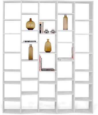 TemaHome Valsa 004 Wall Display Unit - Matt Grey or White image 5