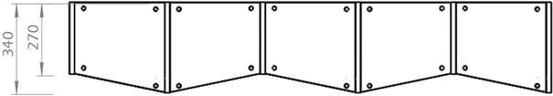 TemaHome Valsa 004 Wall Display Unit - Matt Grey or White image 17