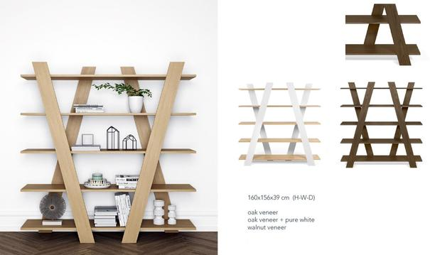 TemaHome Wind Modern Shelving Unit image 10