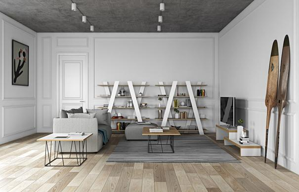 TemaHome Wind Modern Shelving Unit image 18