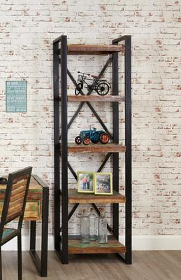 Shoreditch Rustic Alcove Bookcase image 2