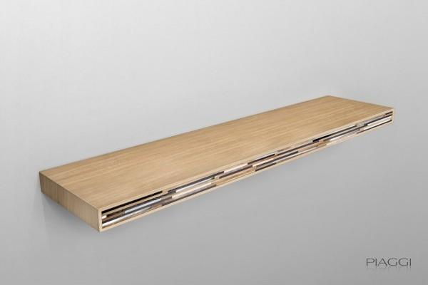 Holt decorative shelf light wood
