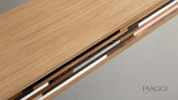 Holt decorative shelf light wood image 2