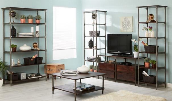 Santara narrow bookcase image 3