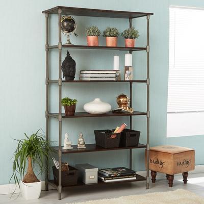 Santara wide bookcase