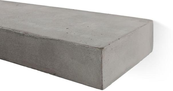 Sliced S Concrete Shelf - Set of 2 image 3