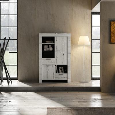 Livorno Bookcase - White Oak image 2