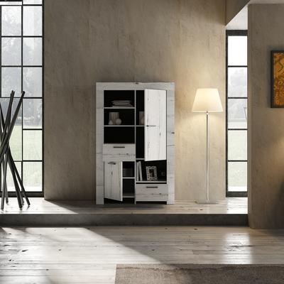 Livorno Bookcase - White Oak image 3