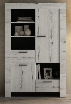 Livorno Bookcase - White Oak