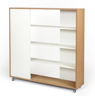 Adala room divider bookcase image 3
