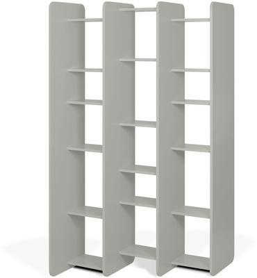 Twin shelving unit