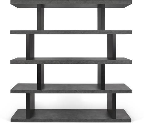 Step shelving unit