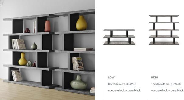 Step shelving unit image 7