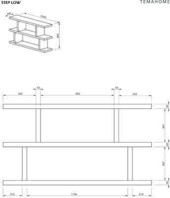 Step shelving unit image 14