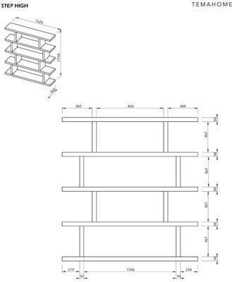 Step shelving unit image 15