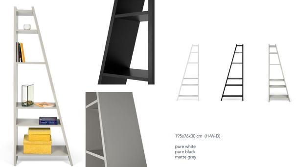 TemaHome Modern Delta (1) Display Unit - Matt White, grey or Black image 10