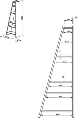 TemaHome Modern Delta (1) Display Unit - Matt White, grey or Black image 14