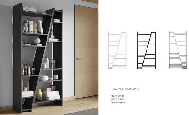 TemaHome Modern Delta (2) Display Unit - Matt White, grey or Black image 10