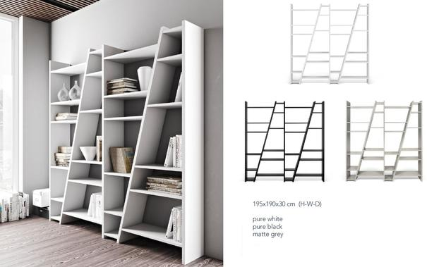 TemaHome Modern Delta (4) Display Unit - Matt White, grey or Black image 10