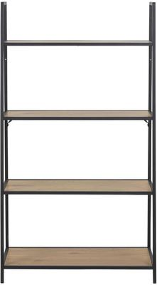 Seafor slant wall unit with 4 shelves image 2