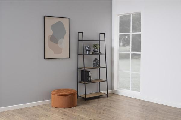Seafor slant wall unit with 5 shelves image 5