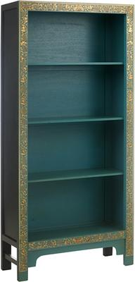 Classic Chinese Bookcase - Blue