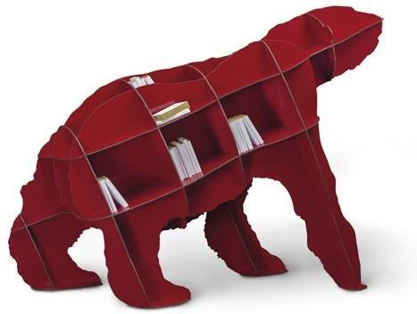 ibride Joe Large Bear Bookcase image 4
