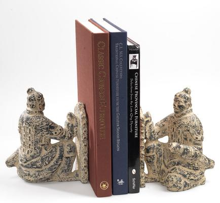 Pair of Terracotta Warrior Bookends
