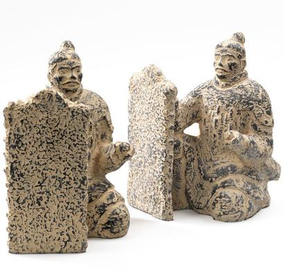 Pair of Terracotta Warrior Bookends image 2
