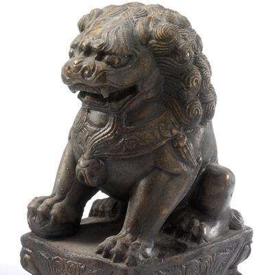 Stone Temple Lion image 2